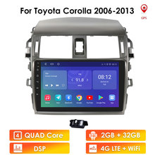 Multimedia Video Player Navigation GPS For Toyota Corolla 10 E140 E150 2006 2013 no dvd 2 din Double Din Android Car Stereo 2din