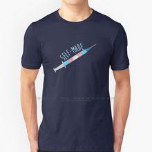 T-shirt 100% coton pur, fait par soi-même, Trans Pride Ftm Mtf lgtq