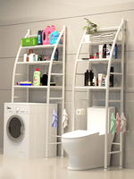 Floor bathroom rack shower storage shower caddy toilet shelfs bathroom wall shelf shelves bath rack for across tub
