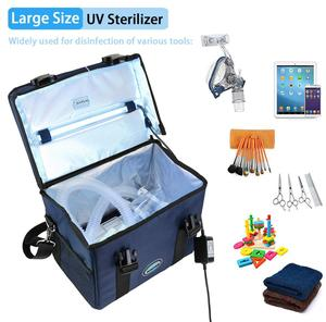 Image 2 - UV Sanitizer Box Baby Bottle Water Sterilizer Toothbrush Disinfect Sterile Tote Cell Phone Smartphone Gym Travel Bag USB Timer