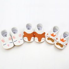 2020 New Babies Shoes Pu Leather Toddler Moccasins