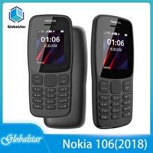 Nokia 106 Refurbished Original WCDMA/GSM 800-Mah-Battery Unlocked Dual-Sim-Removable