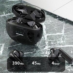 Image 5 - 2020 AWEI plus récent T15 Bluetooth 5.0 casque TWS sans fil écouteurs stéréo avec micro suppression de bruit HiFi jeu casque