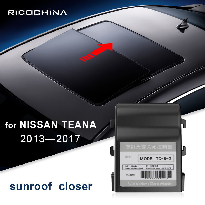 Auto sunroof close For NISSAN TEANA 2013 - 2017 Car smart car skylight automatically 2014 2015 2016
