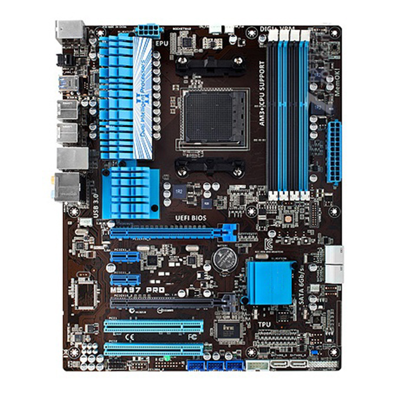 For ASUS M5A97 PRO Desktop motherboard MB AMD 970 Socket AM3/AM3+ ATX DDR3 32GB SATA3.0 USB3.0 100% fully Tested 1