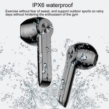 Fones de ouvido bluetooth xg9 tws 5.0 fones de ouvido smart-touch fone de ouvido hd estéreo in-ear fones de ouvido à prova dwireless água sem fio para esporte