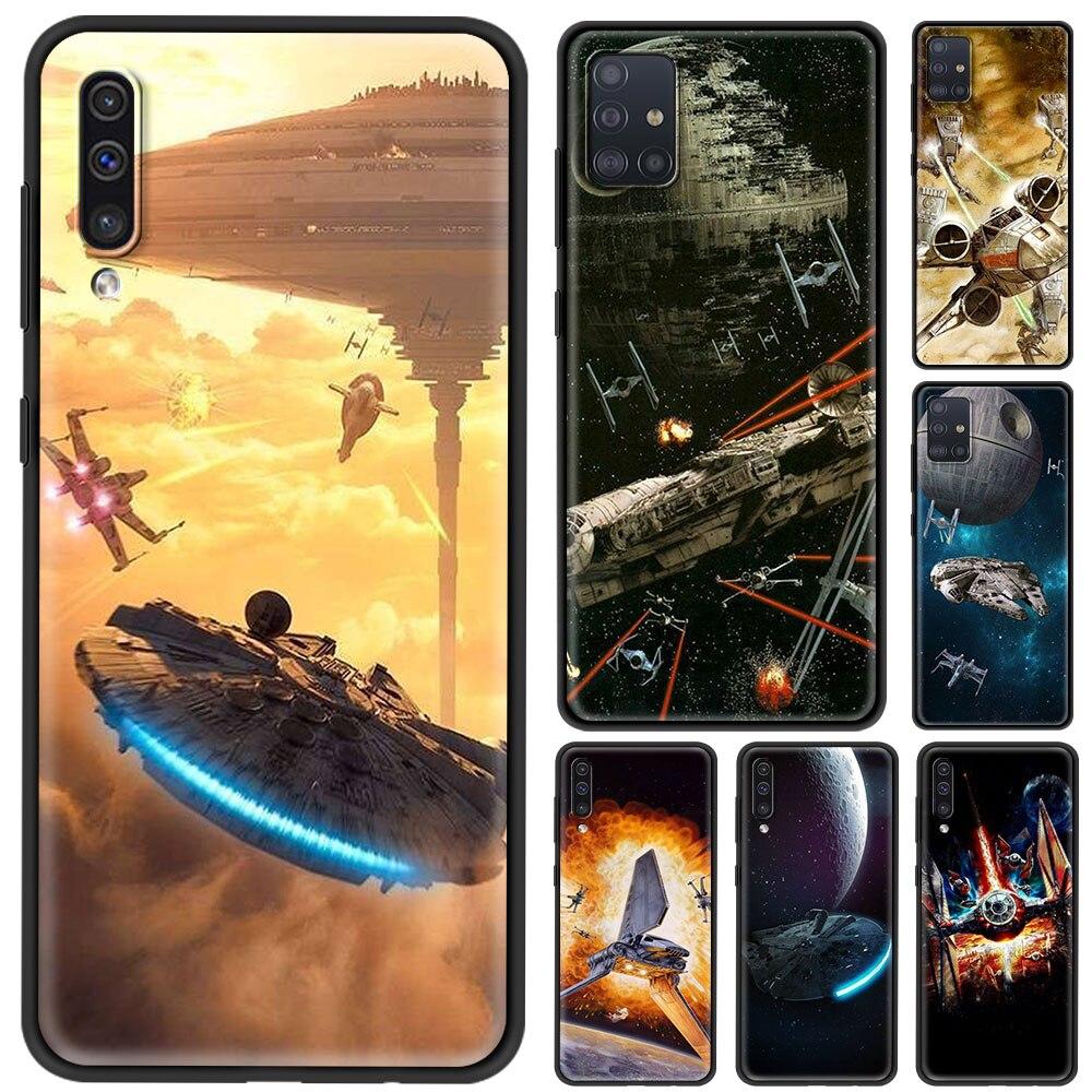 Чехол для смартфона Samsung Galaxy M31s M51 M31 M62 M30s M21 M11 M01 крышка Cool Star космический корабль войны в виде ракушки