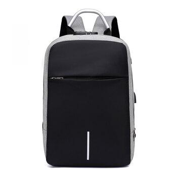 Men Multi-functional Anti Theft Backpack 15.6 7
