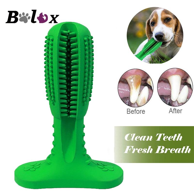 Spazzolino da denti per cani PET giocattoli da masticare per la pulizia del cucciolo dentizione spazzole per cani cani animali domestici cura della cavità ...