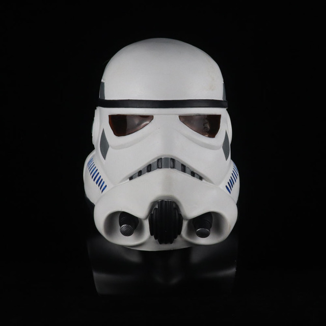 Star Wars Imperial Stormtrooper Mask Cosplay The Rise of Skywalker Latex Helmet Masks Halloween Party Props 1