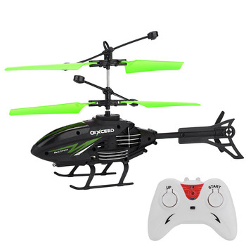 Mini RC Helicopter Infrared Induction Remote Control RC Toys for Kids 2CH Gyro Helicopter RC Drone Toy zabawki Age 3 Years 4