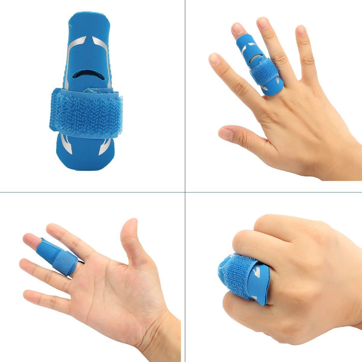Novo dedo de basquete proteger cinta esporte