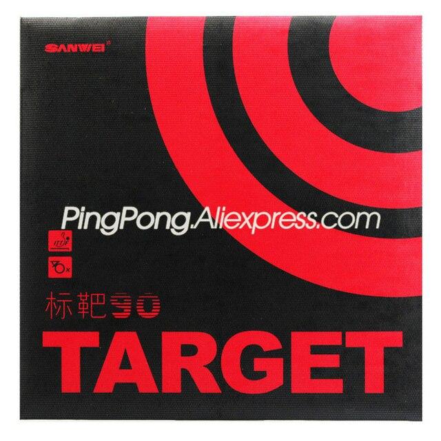 SANWEI TARGET 90 (90% Sticky) Table Tennis Rubber Original SANWEI TARGET Ping Pong Sponge