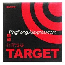 Sanwei esponja de ping pong, alvo de borracha original sanwei para tênis de mesa 90 (90% sticky)