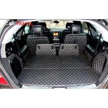 Spezielle stamm matten für Mercedes Benz R 350 W251 6 sitze 2017 2006 wasserdichte boot teppiche cargo liner mat für R350, freies verschiffen