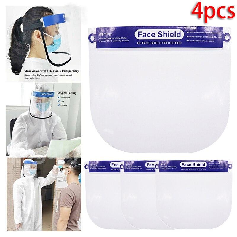 4PCS Guard Eye Face Protector Cover Anti-Splash Visor Anti-sand Acid Alkali Resistance Soldering Safety Tool