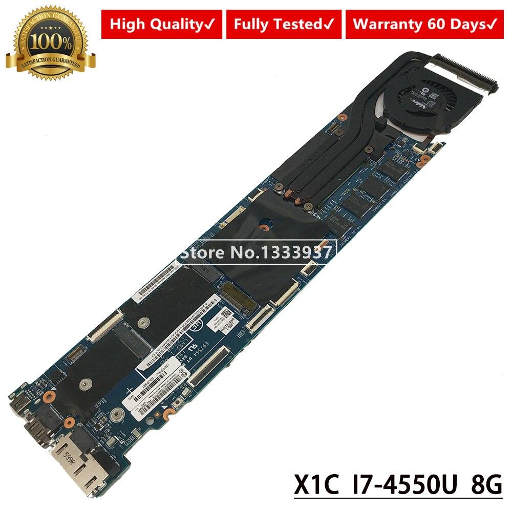 Placa base 00UP987 I7-4550U 8G para lenovo ThinkPad X1C X1 placa base de carbono para ordenador portátil LMQ-1 MB 12298-2 48.4LY26.021 Original Nokia Lumia 635 4G LTE desbloquear teléfono móvil Windows OS 4,5