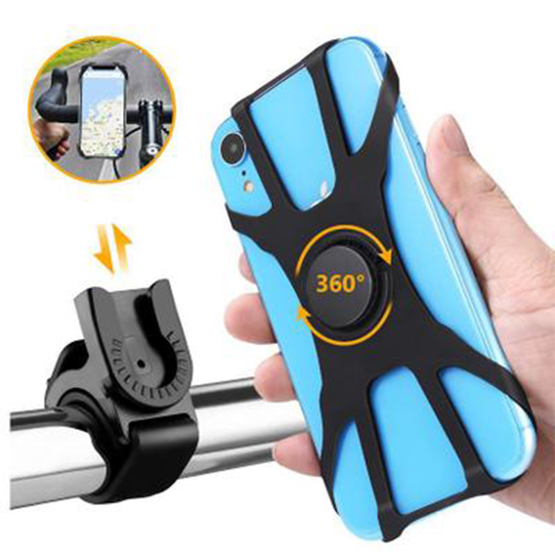 Bike Phone Holder Mountain Road Universal Cell Phone Bicycle Motorcycle MTB Handlebar Mount Cradle For iPhone Samsung Xiaomi