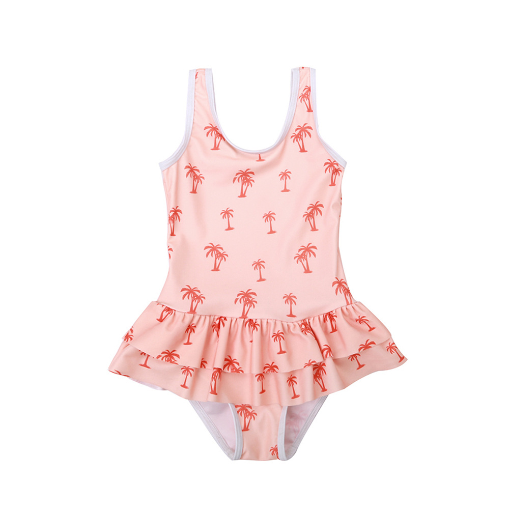 2019 Europe And America New Style Hot Sales One-piece Swimming Suit Sweet Cute Little Princess Tutu Girls Small CHILDREN'S KID'S