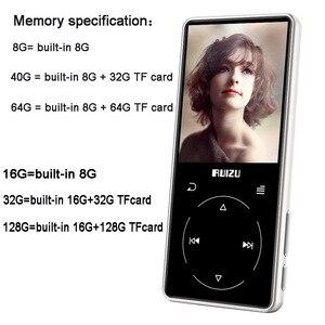 Image 5 - Ruizu D16 8G nouveau lecteur MP3 Bluetooth en métal haut parleur intégré avec enregistreur vocal radio FM lecteur vidéo Portable e book