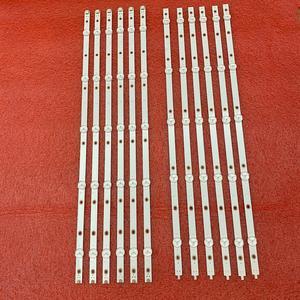 Image 2 - 12 PIÈCES LED bande de rétro éclairage pour 55PUS6503 55PUS7503 55PUS6162 55PUS6262 55PUS6753 55PUS7303 55PUS6703 LB55073 TPT550U1 QVN05.U
