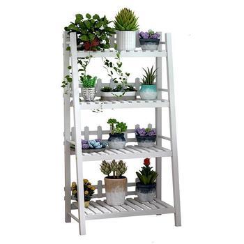 Olla soporte de mesa Repisa Etagere Pour Plante Estanteria jardín Estante Para...