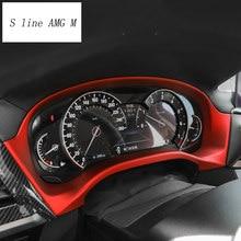 Auto styling Für BMW X3 X4 G01 G02 G08 Innen Instrument panel rahmen Dashboard Abdeckung Aufkleber trim Carbon faser Auto zubehör