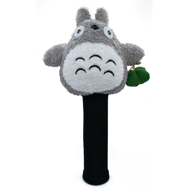Totoro Golf Driver Headcover Cartoon Animal Golf Club Cover Protecter Outdoor Sports Mascot Novelty Cute Gift