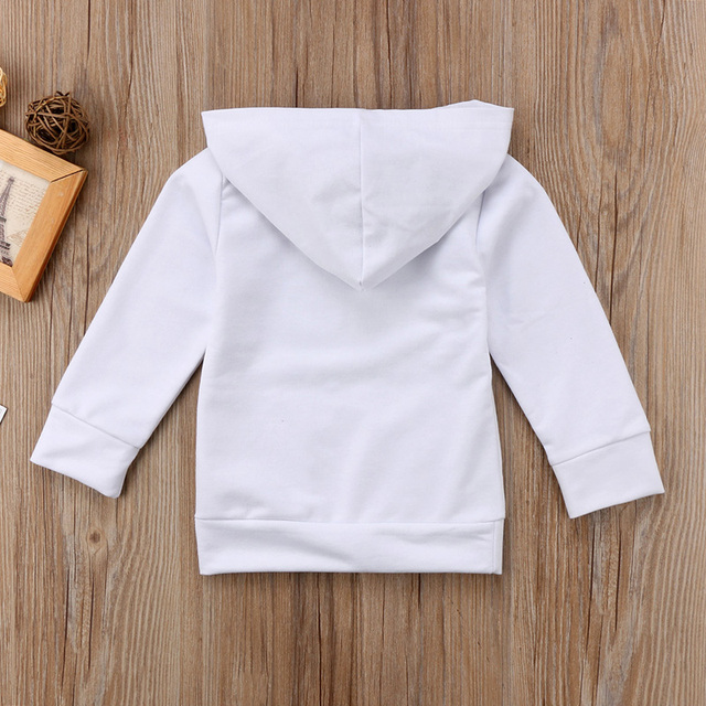 Pudcoco US Stock Baby Boy Cotton Clothes Long Sleeve Sweatshirt Hoodies Jacket Coat Outwear Tops Fall Clothes 6