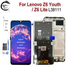 "6.3 ""LCD per Lenovo Z6 Lite L38111 Display con cornice Z6 Youth Screen Touch Sensor Digitizer Assembly Z6lite Z6Youth Display"