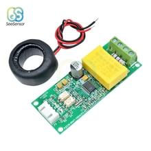 AC Digital Multifunction Meter Watt Power Volt Amp TTL Current Test Module PZEM-004T With Coil 0-100A 80-260V