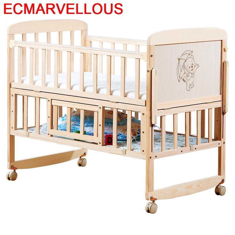 Child Ranza Kinder Bett Girl Baby Furniture Letto Letti Per Bambini Camerette Wooden Chambre Enfant Kinderbett Children Kid Bed