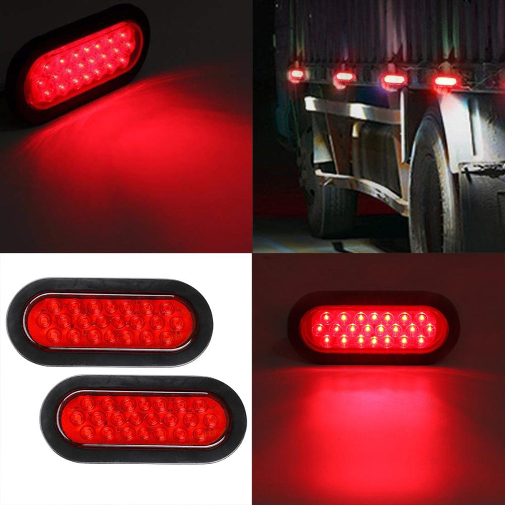 Red LED Side Marker Light Car Truck Trailer Boat Lorry Pickup 10V-30V