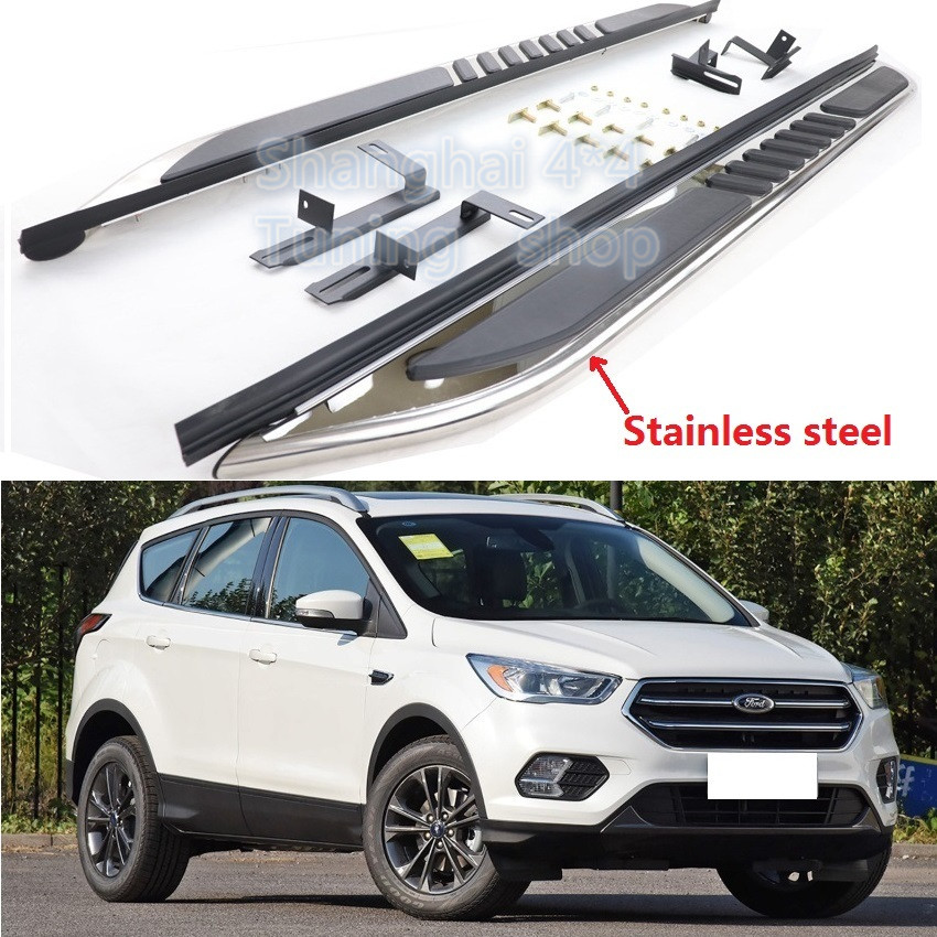 Aluminum Running Board side step For 2013-2019 Ford Escape
