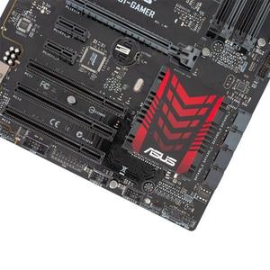 Image 5 - Asus H81 GAMER Desktop Motherboard LGA 1150 Para Core i7 i5 i3 DDR3 16 H81 G SATA3 USB3.0 VGA DVI ATX usado Original Mainboard