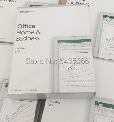 Microsoft Office 2019 HOME BUSINESS   Pro Plus PKC   Home Student 2016 Boxed Windows 10 Key Card Global Professional license
