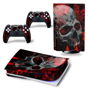 Image 3 - Angry Skull PS5 Standard Disc Edition Skin Sticker Decal Cover for PlayStation 5 Console & Controller PS5 Skin Sticker Vinyl