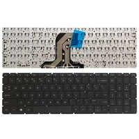 Novo teclado do portátil dos eua para hp pavilion 15-ac 15-af 15q-aj 250 g4 g5 255 g4 g5 256 g5 15-ba 15-ay sem moldura teclado inglês