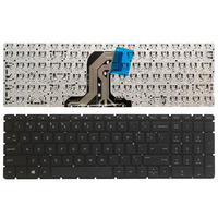 Novo teclado do portátil dos eua para hp pavilion 15 ac 15 af 15q aj 250 g4 g5 255 g4 g5 256 g5 15 ba 15 ay sem moldura teclado inglês Teclado de substituição Computador e Escritório -