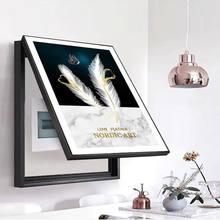 Peinture sur toile avec cadres, laminas, affiche décorative, Art moderne, pour la maison
