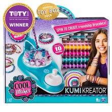 Original spin master Cool fan weaving music toy multi-function hand-woven looms children creative manual DIY bracelet weaving