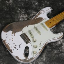 New Product 100% Handmade Relic Electric Guitar R-TY61 Heavy Alder Body Nitro Stain Finish