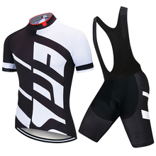 2021 Rro Cycling Jersey Set Mountain Bike Uniforms Summer Cycling Wear Bicycle Clothing Men Cycling Clothing MTB Bike Shirts