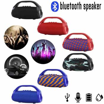 Small Led Flashlight   TG136 Small Wars Bluetooth Speaker Outdoor Portable IPX7 Waterproof Stereo 3D Speaker LED Light Flashlight Lighting Subwoofer