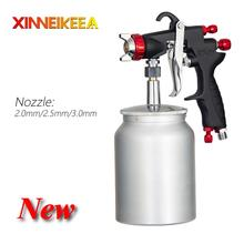 MF-77 Pressure Type Gravity Type High-End Spray Gun Nozzle 2.0 2.5 3.0mm Watering Can 400ml 1000ml High Quality Car Spray Gun