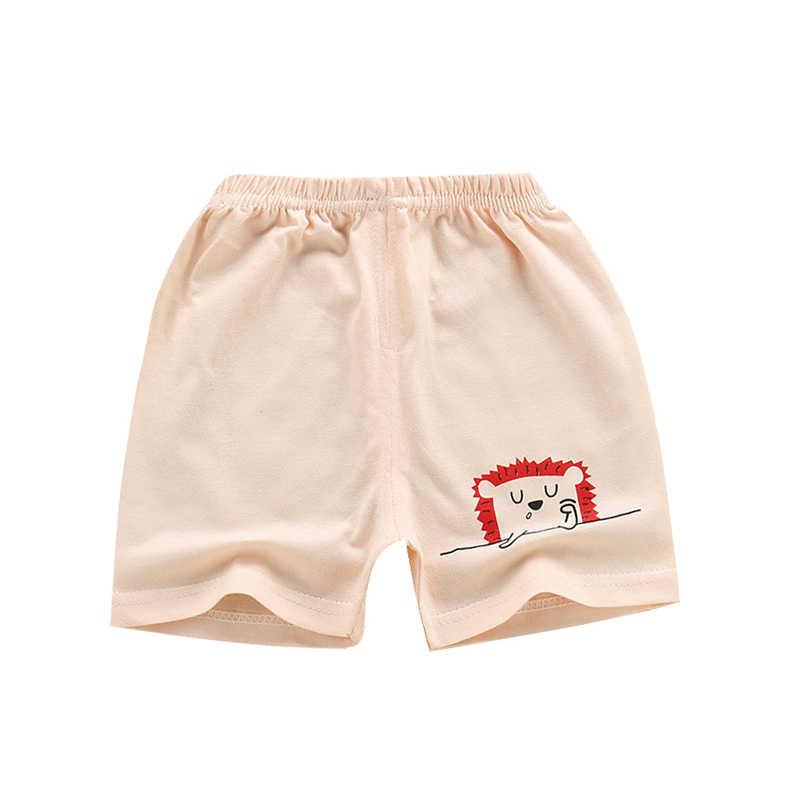 Summer Baby Boys Girls Cotton Short Pants Cute Cartoon Elastic Kid Bloomers
