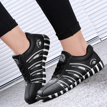 Women's sports shoes Casual woman sneakers Lace up Sturdy Sole Classic Footwear women Comfortable Fashion
