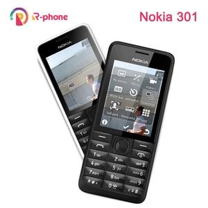 Refurbished Original NOKIA 301 Mobile Phone WCDMA 3MP 2.4' Single Dual Sim Card Unlocked Cellphone