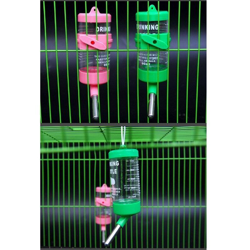 J250ml Hamster Drinker Water Bottle Dispenser Feeder Hanging Pet Hamster Water Bottle Small Pet Drinking Head Pipe Fountain1
