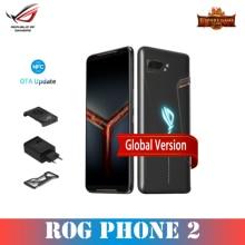 ASUS ROG Phone 2 Global Version Gamingphone 512GB ROM 12GB RAM ZS660KL OTA Update Snapdragon 855 Plus 6000mAh NFC Android9.0